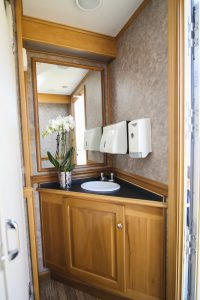 Beautiful clean restrooms for your event