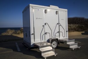 Elegant outdoor Restrooms of Cape Cod